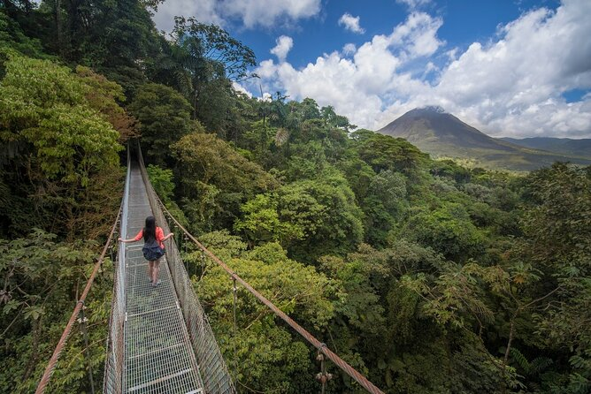 Arenal Combo Tour: Volcano Hike, La Fortuna Waterfall & Mistico Hanging Bridges