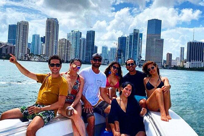Miami Lifestyle Beautiful 35' private boat charter with captain