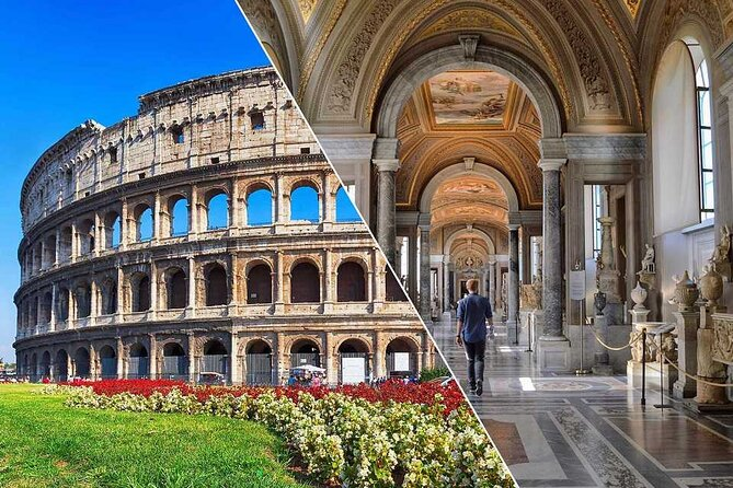 Combination tour Vatican, Colosseum, Pantheon and Ancient Rome in one day