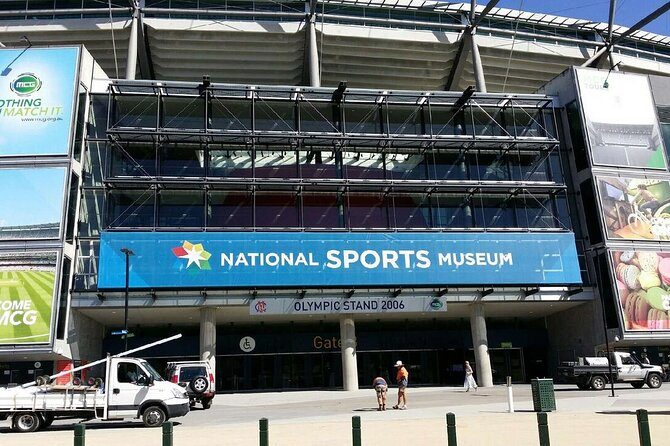 Sports Tour of Melbourne with Australian Sports Museum Access