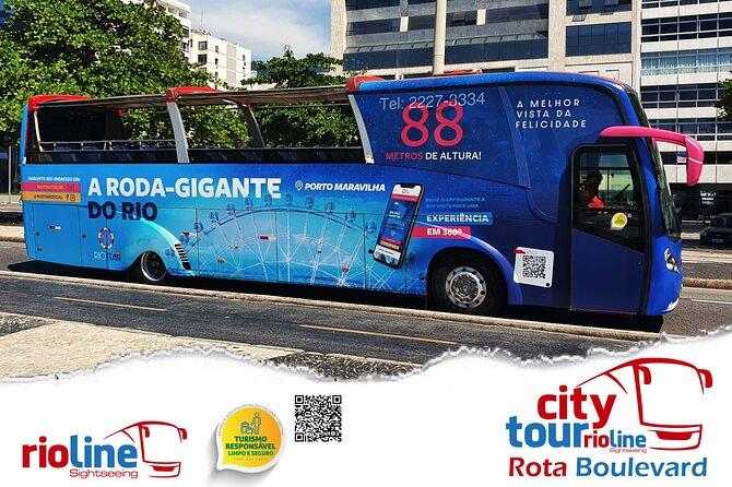 Rio Line Panoramic City Tour - Boulevard Route