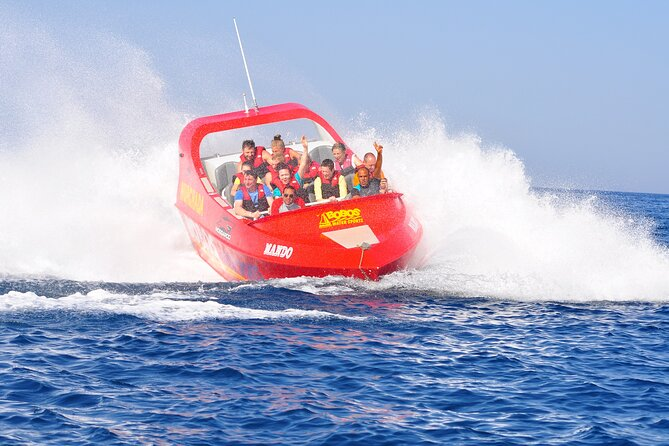 Mega Adrenaline Twister ٍSpeed Boat & Parasailing & Semi Submarine - Hurghada
