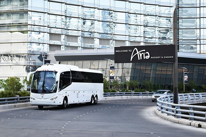 Private Charter Bus from McCarran Airport to Las Vegas City