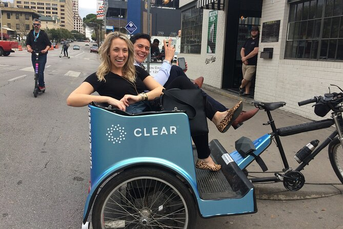 Private Pedicab City Tour of Austin (Half Hour)