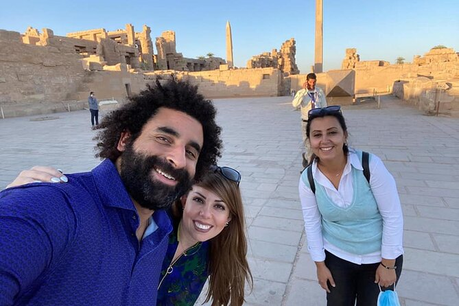 day tour from hurghda to luxor east &west bank by van