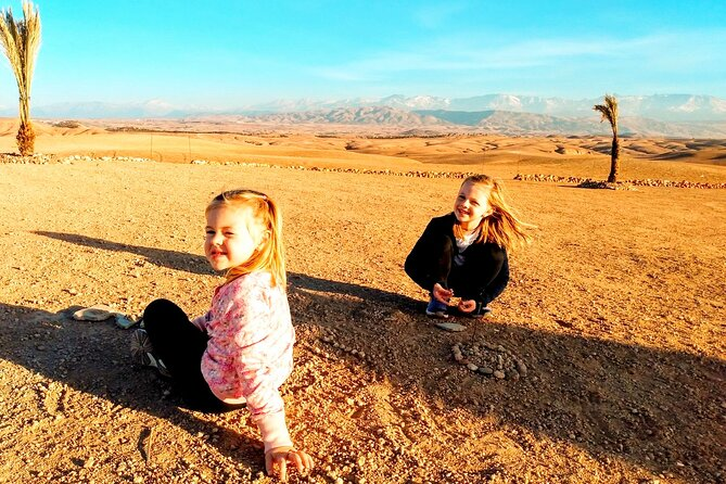Dinner and sunset in Agafay desert : All inclusive