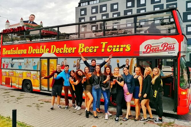 Bratislava Double Decker Beer Tour