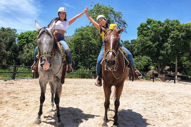 Horseback Riding and Cenote Swim from Cancun or Playa del Carmen