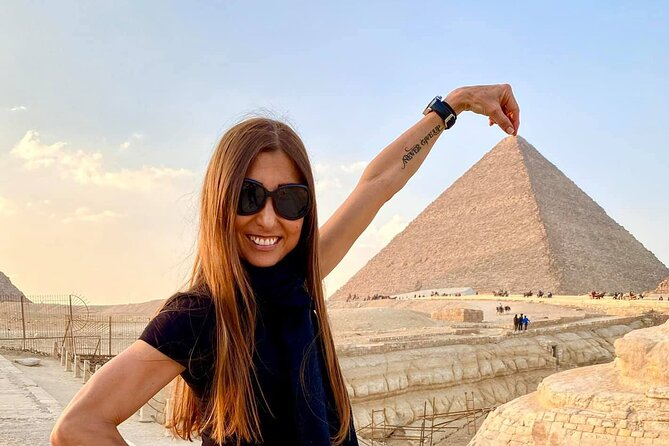 Giza pyramids ,sphinx ,quad bike &camel ride Cairo Giza hotel with expert guide