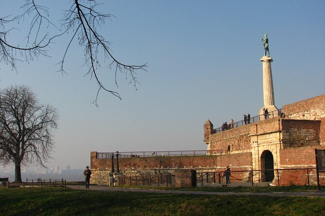 Belgrade Fortress - The Victor monument