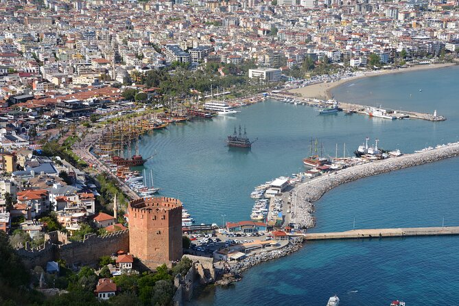 Excursion in Alanya with boat trip and cable car from Side included