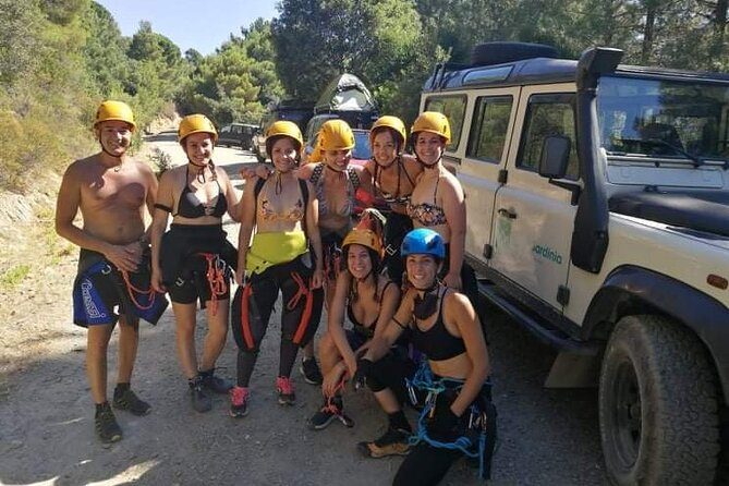 Full day of Canyoning in Rio Pitrisconi