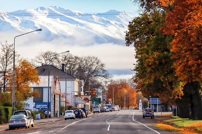 1 day private tour from Christchurch to Queenstown via Mt.Cook