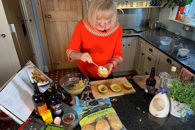 Virtual Welsh Cooking Experience with TV Cook Nerys Howell