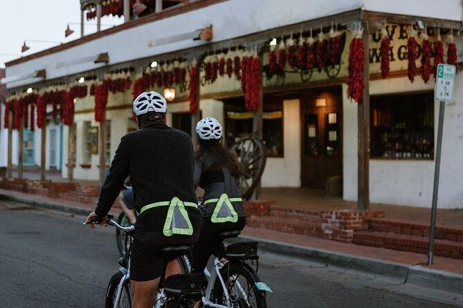 Cycling through Old Town Albuquerque