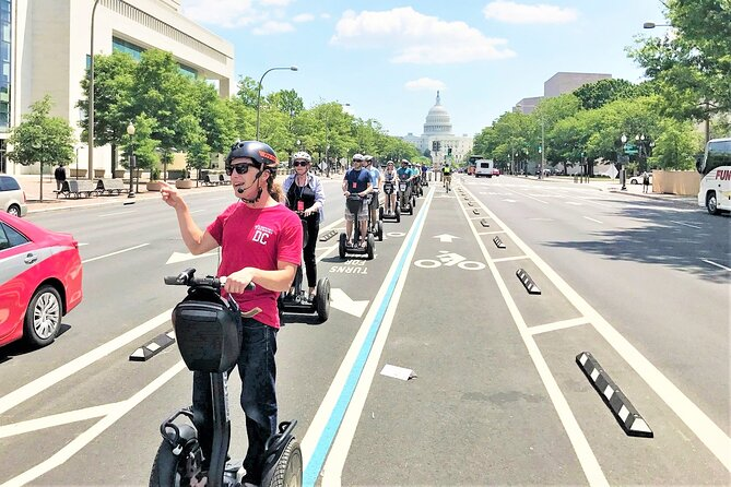 """Washington DC """"See the City"""" Guided Sightseeing Segway Tour"""