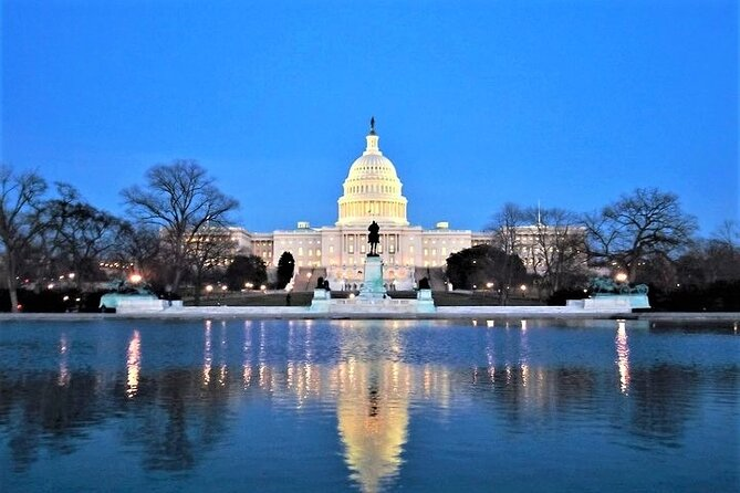 "3-Hour ""DC After Dark"" Night-Time Guided Bus Tour with Stops at Top Attractions"