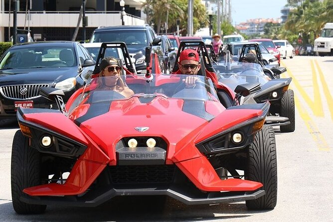 Fun Miami Private Slingshot Tour with Pickup
