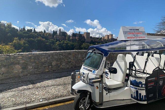 Private Tour in Tuk Tuk on the Origin of Granada