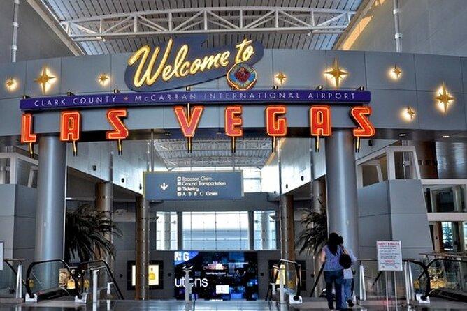 Arrival Private Transfer: Las Vegas Airport to Las Vegas City by Business Sedan