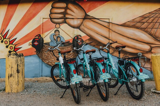 Our E-Bikes are all named after cities and towns in New Mexico.