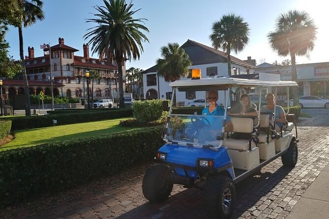 Private Boat and Golf Cart Tour