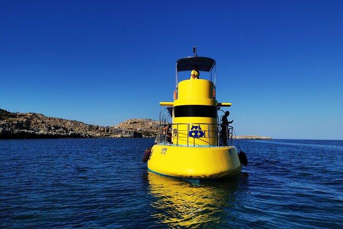 Guided Submarine Tour in Vlicha, Lindos and Navarone Bay