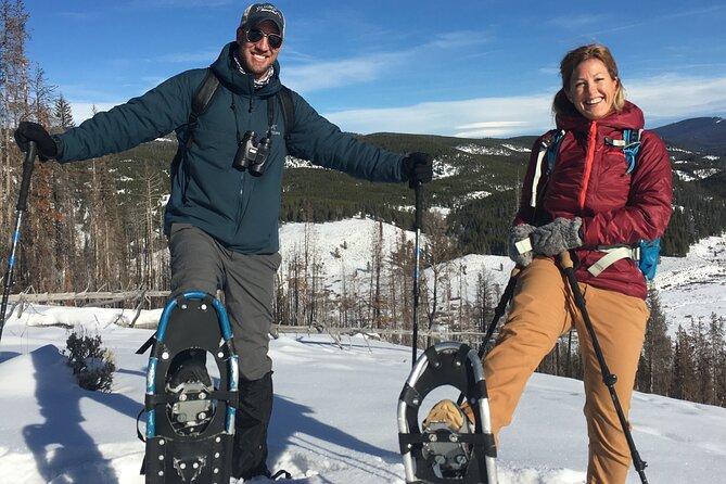 Private Full-Day Yellowstone Snowshoe Safari from Bozeman