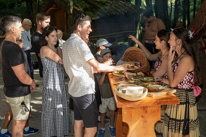 Cooking Experience at Tawa Forest with Whakatau Ceremony
