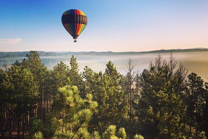 Hot Air Balloon Flight Over Black Hills