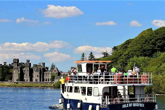 Lake cruise on Lough Corrib to Inchagoill Island & Cong village from Oughterard.