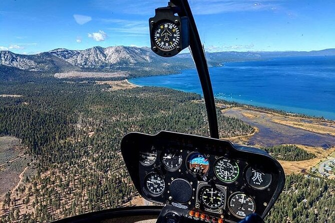 Emerald Bay Helicopter Tour of Lake Tahoe