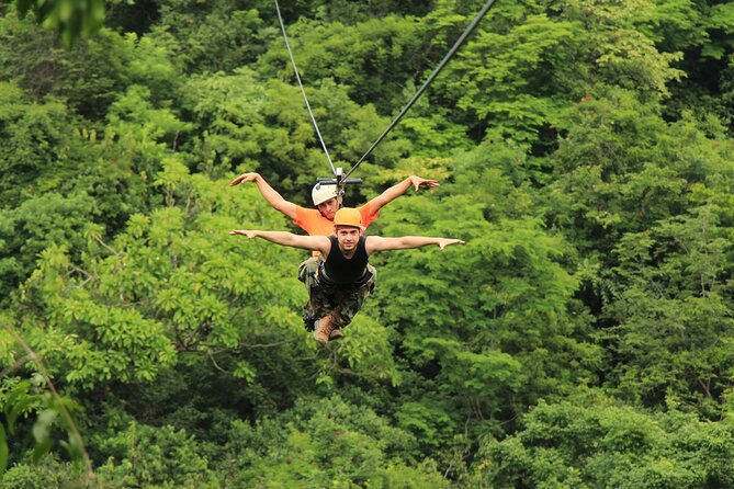 Zipline Canopy Adventure Tour and Tequila Tasting Puerto Vallarta