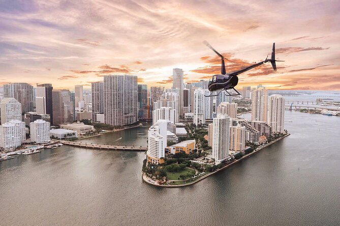 30-Minute Miami Helicopter Ride for 3 Passengers