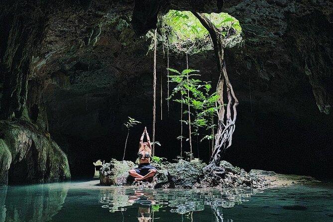 Private Magical Cave Cenotes Exploration in Tulum