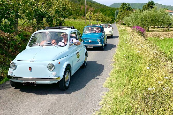 Fiat 500 tour-Drive a vintage car in the Tuscan countryside