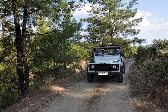 Jeep Safari in het Taurusgebergte vanuit Kemer
