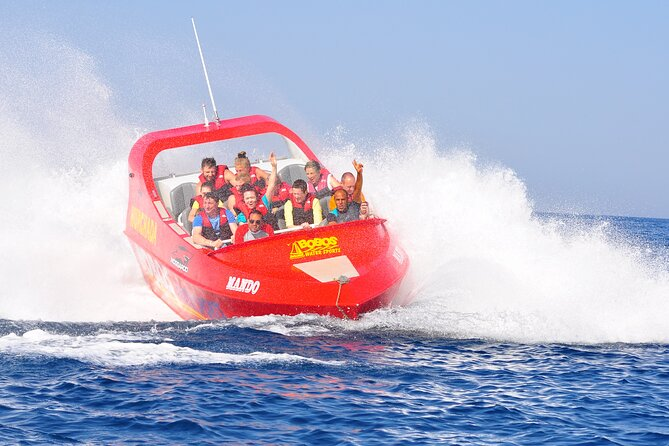 Twister ٍSpeed Boat & Parasailing With Private transportation - Sharm El Sheikh