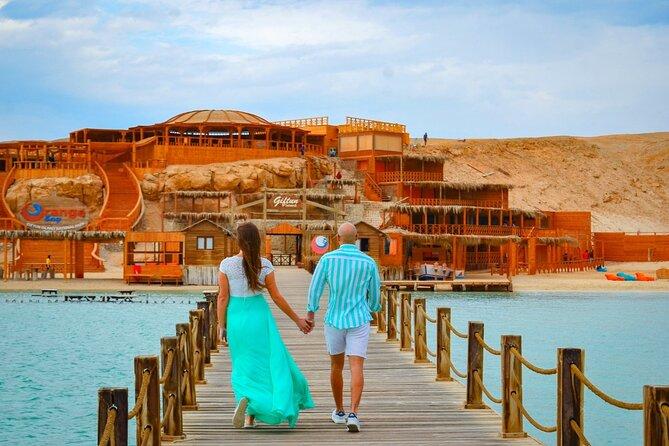 Fantastic Orange Bay & Parasailing & Water sports & Snorkeling& Fishing-Hurghada