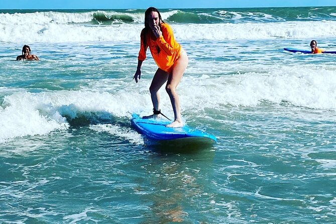 Two- Hour Group Surfing Lesson in Cocoa Beach