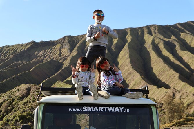 1 Day - Bromo Panorama Morning Tour start MALANG or SURABAYA // 06:00 - 14:00