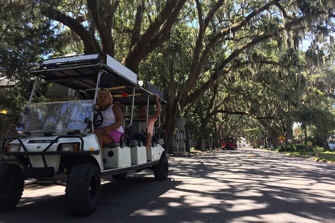 St. Augustine Private Golf Cart Tour
