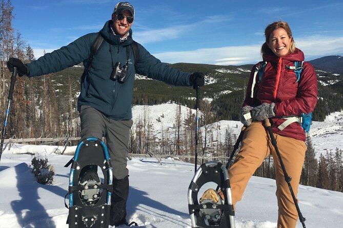 Private Full-Day Yellowstone Snowshoe Safari from Gardiner