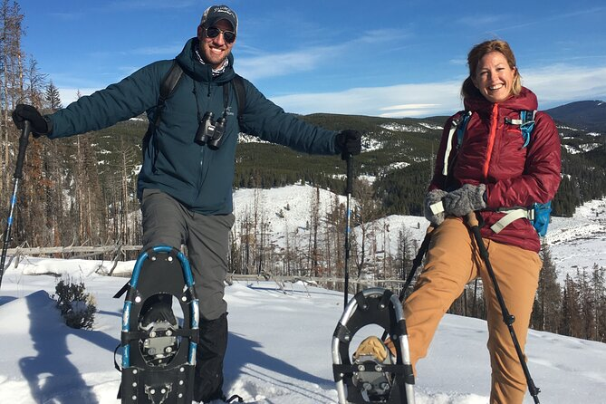 Full-Day Private Yellowstone Snowshoe Safari