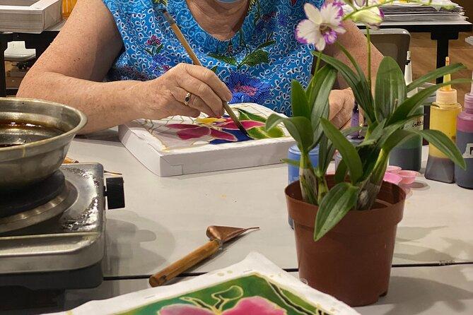 Batik painting class