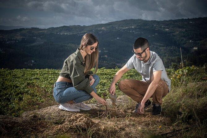 Wine & Vine Planting at Quinta de Santa Cristina Vinho Verde Wine Estate