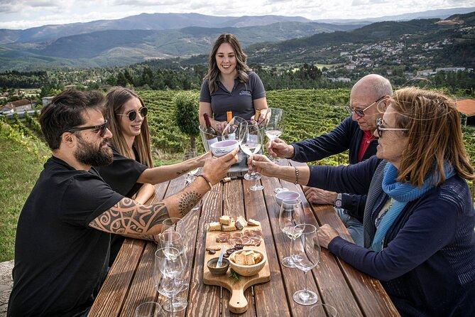 Premium Wine Tasting at Quinta de Santa Cristina Vinho Verde Wine Estate