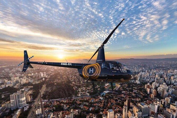 20-Minute Helicopter Flight over São Paulo City