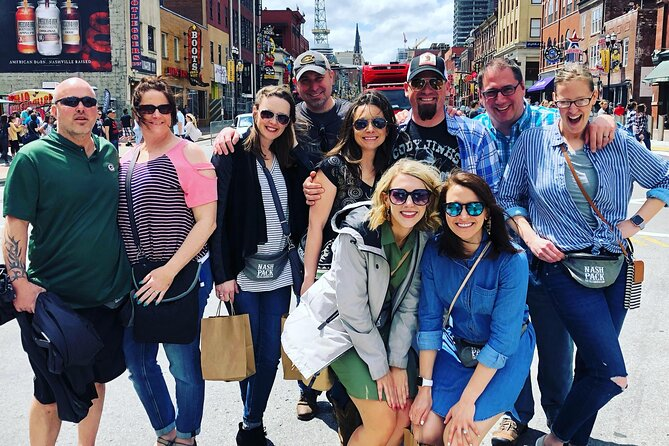90-Minute Legends of Music City Guided Historical Walking Tour