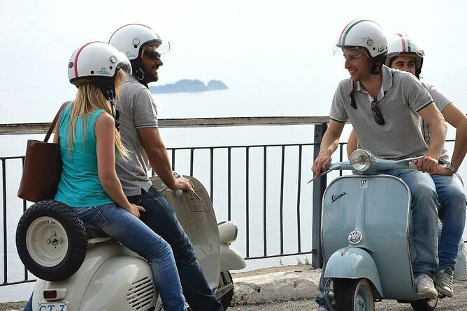 Private Tour: Amalfi Coast Day Trip from Sorrento by Vintage Vespa